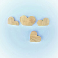 Foundations Decor - Wood Crafts - Barrel - Monthly Insert - February Hearts