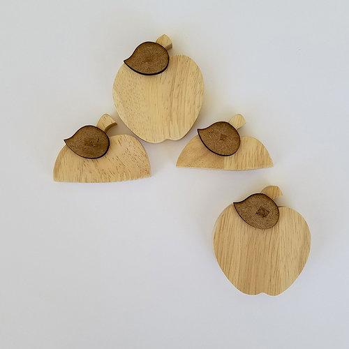 Foundations Decor - Wood Crafts - Barrel - Monthly Insert - September Apples