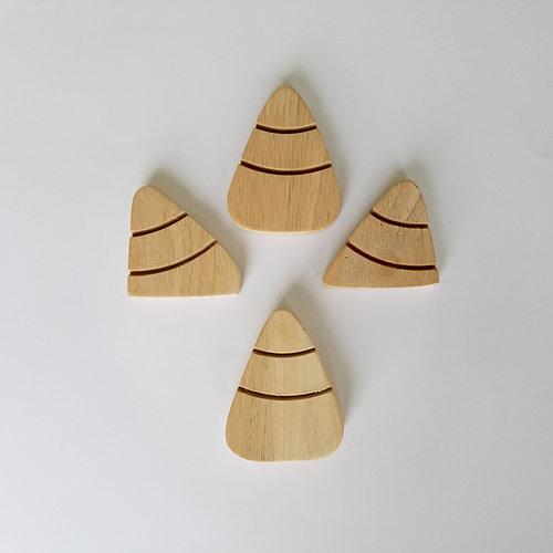 Foundations Decor - Halloween - Wood Crafts - Barrel - Monthly Insert - October Candy Corns