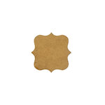 Foundations Decor - Wood Crafts - Banner - Square Bracket