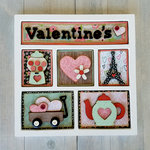 Foundations Decor - Valentine's Shadow Box Kit