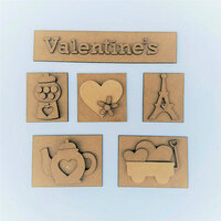 Foundations Decor - Valentine's Kit for Shadow Box