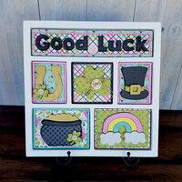 Foundations Decor - Good Luck Kit for Shadow Box
