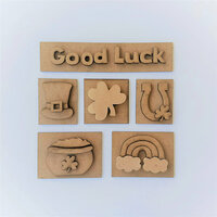 Foundations Decor - Good Luck Kit for Shadow Box