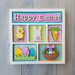 Foundations Decor - Easter Shadow Box Kit