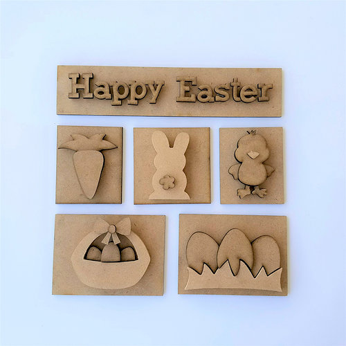 Foundations Decor - Easter Kit for Shadow Box