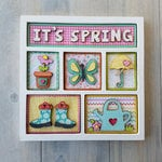 Foundations Decor - IT'S SPRING Kit for Shadow Box