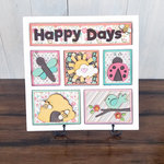 Foundations Decor - Happy Days Kit for Shadow Box