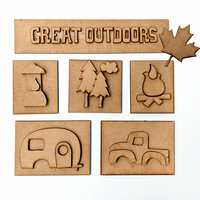 Foundations Decor - Great Outdoors Kit for Shadow Box
