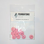 Foundations Decor - Buttons - Small - Pink