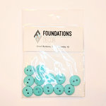 Foundations Decor - Buttons - Small - Teal