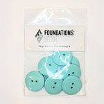 Foundations Decor - Buttons - Large - Teal