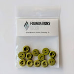 Foundations Decor - Buttons - Small - Green