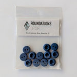 Foundations Decor - Buttons - Small - Blue