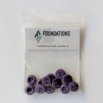 Foundations Decor - Buttons - Small - Purple