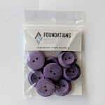 Foundations Decor - Buttons - Large - Purple