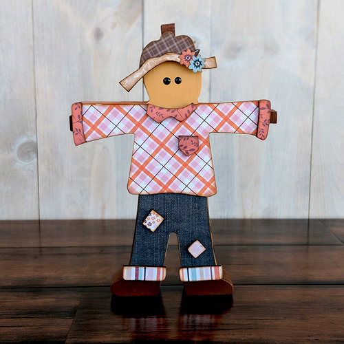 Foundations Decor - Wood Crafts - Scarecrow