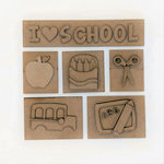 Foundations Decor - School Kit for Shadow Box