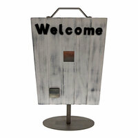 Foundations Decor - Wood Crafts - Welcome Slat Sign