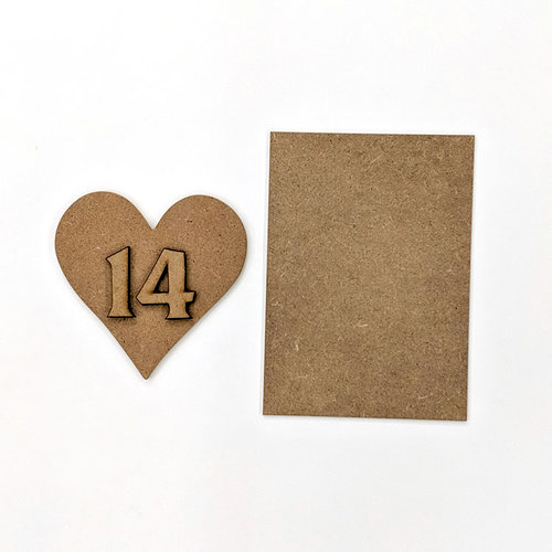 Foundations Decor - Wood Crafts - Heart Kit for Welcome Slat Sign