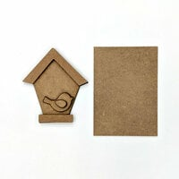 Foundations Decor - Wood Crafts - Birdhouse Kit for Welcome Slat Sign