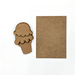 Foundations Decor - Wood Crafts - Ice Cream Kit for Welcome Slat Sign