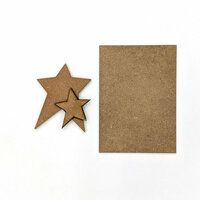Foundations Decor - Wood Crafts - Stars Kit for Welcome Slat Sign