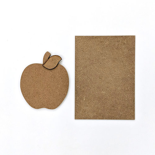 Foundations Decor - Wood Crafts - Apple Kit for Welcome Slat Sign