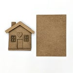 Foundations Decor - Wood Crafts - House Kit for Welcome Slat Sign