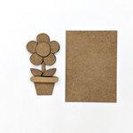 Foundations Decor - Wood Crafts - Flower Kit for Welcome Slat Sign