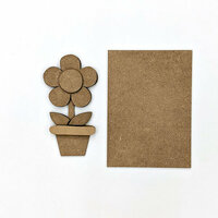 Foundations Decor - Wood Crafts - Flower Kit for Welcome Slat Sign