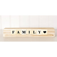 Foundations Decor - Everyday Collection - Wood Crafts - Slide Stand