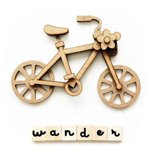 Foundations Decor - Everyday Collection - Wood Crafts - Wander Bicycle
