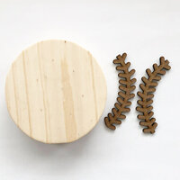 Foundations Decor - Interchangeable O for Welcome Wood Blocks - Baseball