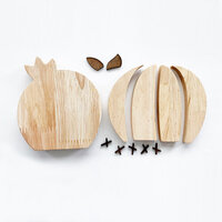 Foundations Decor - Interchangeable O for Welcome Wood Blocks - Cactus