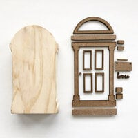 Foundations Decor - Interchangeable O for Welcome Wood Blocks - Doorway