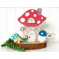 Foundations Decor - Wood Crafts - Gnome Home - Zahause