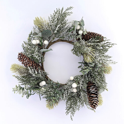 Foundations Decor - Accessory - Winter Wreath