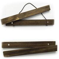 Foundations Decor - 9 Inch - Click Sticks - Dark Stain