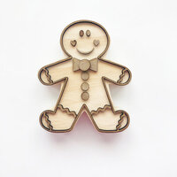 Foundations Decor - Home Collection - Monthly O - Gingy The Gingerbread Cookie