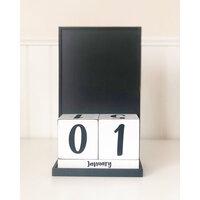 Foundations Decor - Block Countdown Calendar - Calendar Base Set