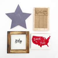 Foundations Decor - Monthly Kit for Tiered Tray - July Kit