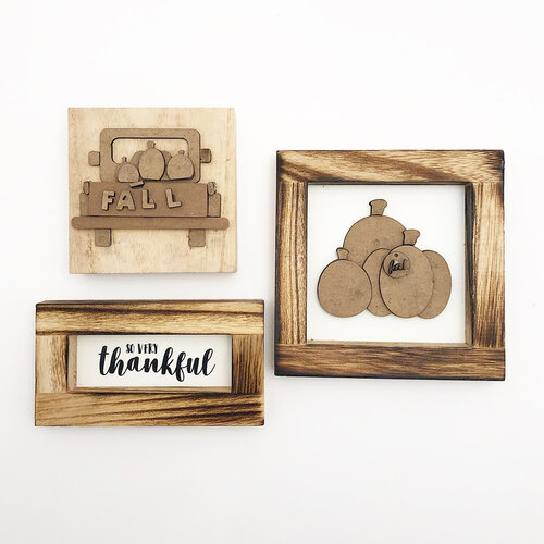 Foundations Decor - Monthly Kit for Tiered Tray - November Kit