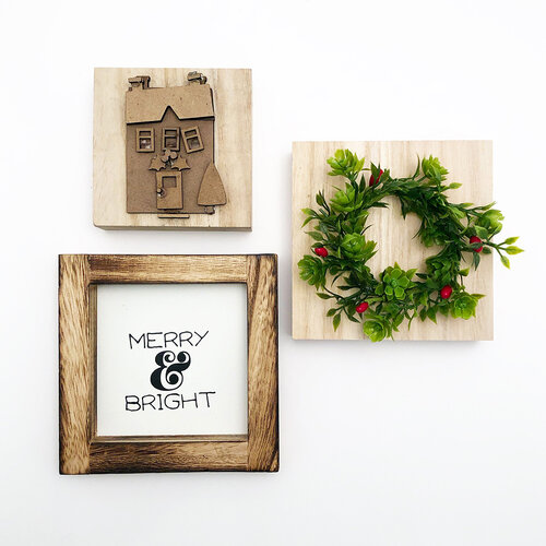 Foundations Decor - Monthly Kit for Tiered Tray - December Kit