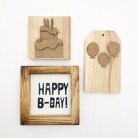 Foundations Decor - Kit for Tiered Tray - Birthday