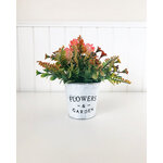 Foundations Decor - Tray Decor - Flower and Garden - Can and Flowers