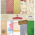 FarmHouse Paper Company - Country Kitchen Collection - 12 x 12 Paper Pack - Secret Recipe
