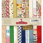 FarmHouse Paper Company - Country Kitchen Collection - 6 x 6 Paper Pad