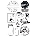 FarmHouse Paper Company - Country Kitchen Collection - Clear Acrylic Stamps