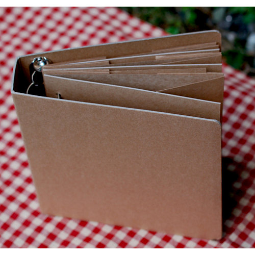 FarmHouse Paper Company - Dry Goods Collection - 8 x 8 Craft Album